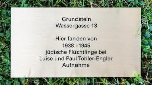 019-Quartierverein-Gallusplatz-Plakete-Wassergasse-13-Hans-Tobler